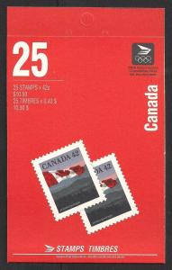 CANADA SC# 1356c VF MNH 1991 COMP BKLT
