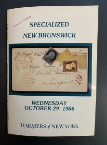 New Brunswick Specialized, Harmers of New York, Sale #2768, Oct. 29, 1986