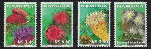 Namibia Sea Anemone 4v SG#878-881
