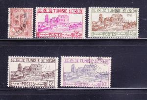 Tunisia 153-154, 158-160 U Buildings (A)