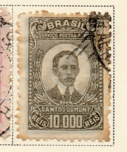 Brazil 1929-30 Early Issue Fine Used 10000r. NW-12104