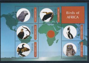 [31800] Gambia 2011 Birds Vögel Oiseaux Ucelli   MNH Sheet
