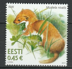 Estonia 2013 Fauna, Animals MNH Stamp