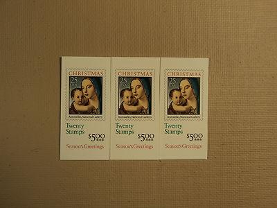 USPS Scott 2514a 25c Antonello Christmas 3 Books 1990 60 ...