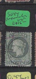 ST HELENA  (P0105B)  QV  6D     SG  44  PAPERMAKERS  WMK    VFU