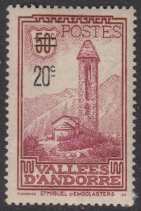 French Andorra 64 MH (see Details) CV $18.50