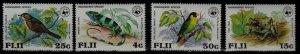 Fiji 397-400 MNH WWF-79 SCV25