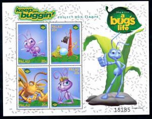 [62814] Palau 1998 Disney Insects A Bug's Life  MNH