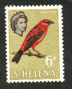 Saint Helena Scott 164 MH* 1961 Bird stamp