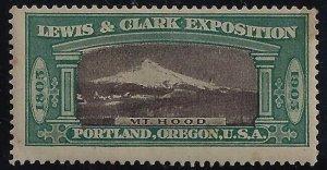 1905 Lewis & Clark Exposition Cinderella William Mt. Hood Mint VLH