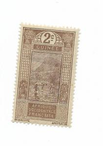 French Guinea 1913 - Scott #64