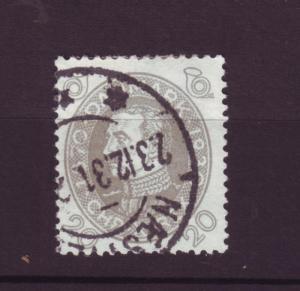 J3236 JL stamps 1930 denmark used #215 $9.75v king