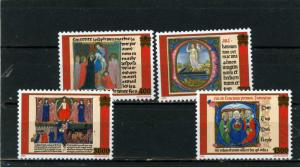 VATICAN 1999 Sc#1113-1116 RELIGIOUS PAINTINGS SET OF 4 STAMPS MNH