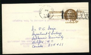 USA  postcard 9 cent  1976 PD