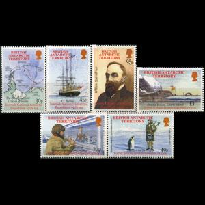 BR.ANTARCTIC TERR. 2002 - Scott# 316-21 Exped. Set of 6 NH
