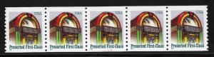 UNITED STATES SC# 2911 PL#111111 STRIP/5 VF/MNH 1995