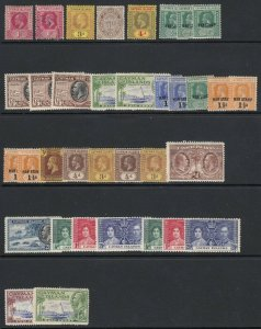 Cayman Islands Mostly Mint (some used) Collection, CV over $70.00