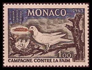 Monaco 544 Mint VF LH