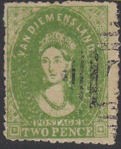 TASMANIA AUSTRALIA  An old forgery of a classic stamp.......................D346