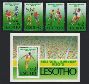 Lesotho World Cup Football Championship 4v+MS SG#686-MS690