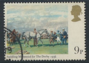 Great Britain  SG 1087  SC# 863 The Derby Horse Racing  Used see detail and scan