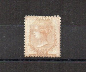 Malta 1863 1/2d MH