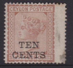 Ceylon Sc#104 MNG
