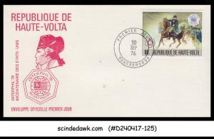 UPPER VOLTA - BURKINA FASO - 1976 AMERICAN REVOLUTION BICENT INTERPHIL '...