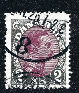 Denmark Nice 1925 SC #129 F-VF Used SCV$26...Such a Deal!