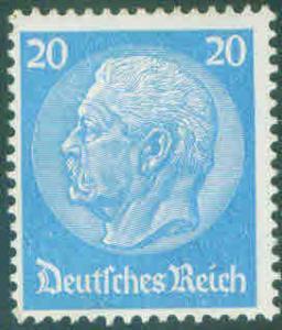 German Deutsche Bundespost Scott 408 Hindenburg 1933