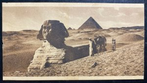 1915 Egypt Field Post Office RPPC Postcard Censored cover To Adelaide Austral