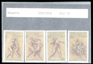 BULGARIA Sc#3932-3935 Complete MINT NEVER HINGED Set