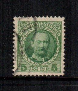 Danish West Indies  43  used  Cat $ 1.90