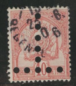 Tunis Tunisia Scott JA20a used postage due 1888