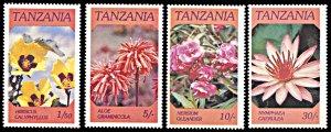 Tanzania MNH 315-8 Indigenous Flowers