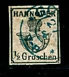 Hannover - #18 1/2 Groschen - Used  ( Cat $160.00)