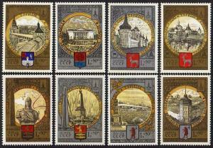 HERRICKSTAMP RUSSIA Sc.# B113-20 Olympics Stamps Mint NH
