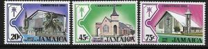 JAMAICA,547-549 MNH, CHRISTMAS 1982