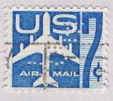 United States Air mail 7c (AP117917)