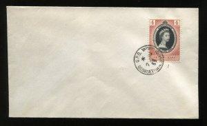British Guiana1953 QEII Coronation FDC cover