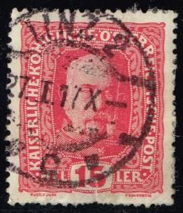 Austria #150 Franz Josef; Used (0.25)