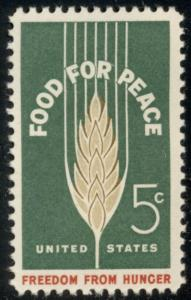 #1231 5¢ FOOD FOR PEACE LOT OF 400 MINT STAMPS, SPICE UP YOUR MAILINGS!