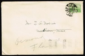 COVER COLLECTION - 1934 JAPAN DOSHISHA UNIVERSITY CACHET COVER TO USA