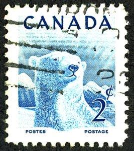Canada #322 Used