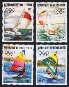 Upper Volta Summer Olympic Games Los Angeles 4v SG#675-678 SC#C278-C281