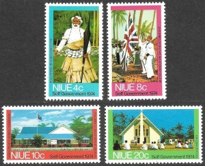 Niue # 167 - 70 Mint Never Hinged  [9244]