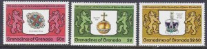 Grenada-Grenadines #270-72 F-VF Mint NH ** QE II Coronation