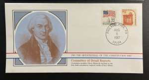 US #1582,2115 Used on Cover - Bicentennial of Constitution 1787-1987 [BIC20]