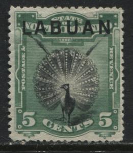 Labuan 1894 5 cents unused no gum