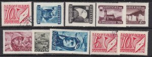 SLOVAKIA ^^^^^^sc# 38//J38   mint & used collection  $$@ lar 1031slova